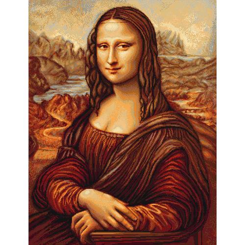"""Набор для вышивания крестом Luca-S """"Мона Лиза"""" (фото, вид 1)"""