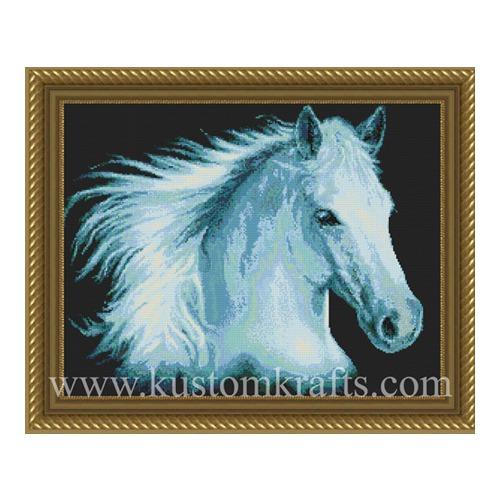 """Набор для вышивания крестом Kustom Krafts Inc. """"Белая молния"""" (фото, вид 2)"""