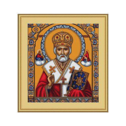 """Набор для вышивания крестом Luca-S """"Икона Святой Николай"""" (фото, вид 1)"""