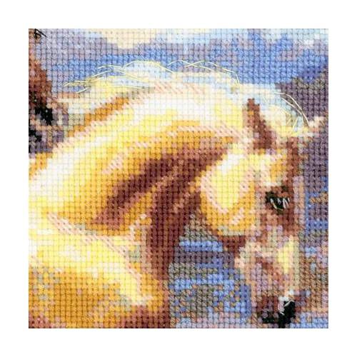 """Набор для вышивания крестом Риолис """"В лучах заката"""" (фото, вид 1)"""