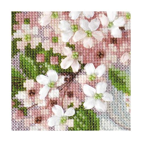 """Набор для вышивания крестом Риолис """"Вишневый цвет"""" (фото, вид 1)"""
