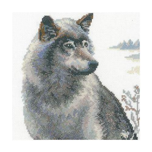 """Набор для вышивания крестом Риолис """"Волки"""" (фото, вид 1)"""