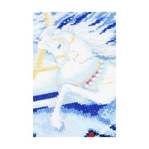"""Набор для вышивания крестом Риолис """"Тройка мчится"""" (фото, вид 2)"""