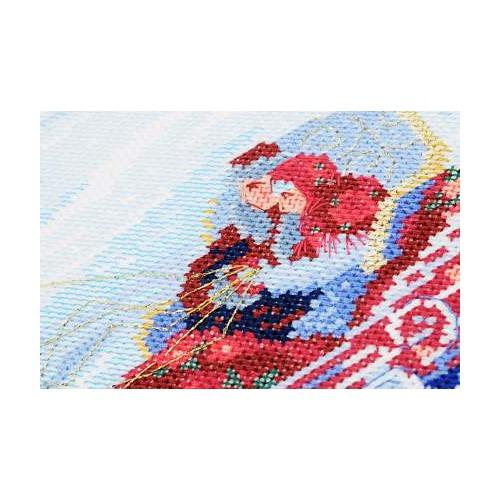 """Набор для вышивания крестом Риолис """"Тройка мчится"""" (фото, вид 3)"""