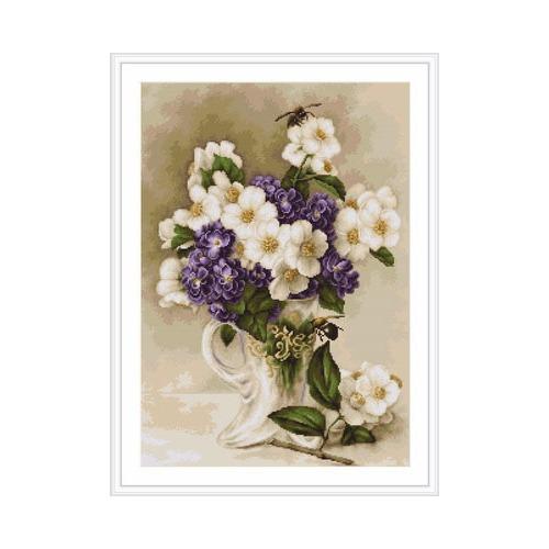 "Гобелен Luca-S ""Цветы жасмина"" (фото, вид 1)"