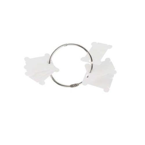 Аксессуары DMC Пластиковые бобинки для мулине с металлическим кольцом (фото, вид 1)