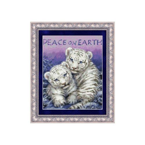"""Набор для вышивания крестом Kustom Krafts Inc. """"Мир на земле"""" (фото, вид 1)"""