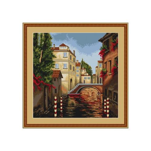 """Набор для вышивания крестом Luca-S """"Венеция"""" (фото, вид 1)"""