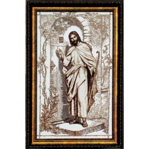 """Набор для вышивания крестом Чаривна Мить """"Иисус стучится в твою дверь"""" (фото, вид 1)"""