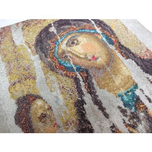 """Набор для вышивания крестом Thea Gouverneur """"Икона Божия Матерь (Богородица Одигитрия)"""" (фото, вид 1)"""