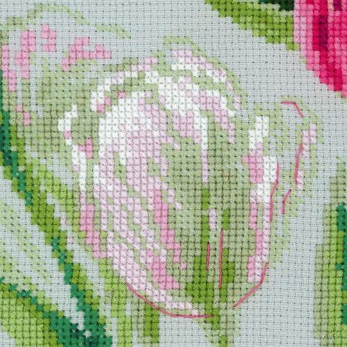 """Набор для вышивания крестом Риолис """"Весенние тюльпаны"""" (фото, вид 1)"""
