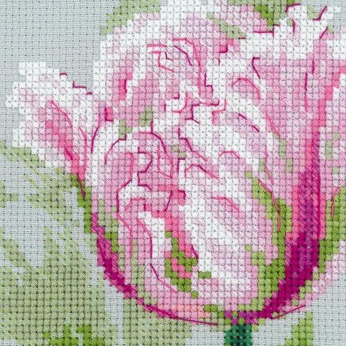 """Набор для вышивания крестом Риолис """"Весенние тюльпаны"""" (фото, вид 3)"""