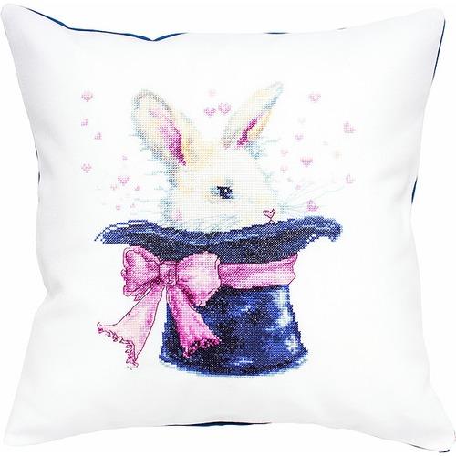"""Набор для вышивания крестом Luca-S """"Кролик"""" (фото, вид 1)"""