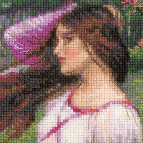 """Набор для вышивания крестом Риолис """"Ветреницы (Д. У. Уотерхаус)"""" (фото, вид 1)"""