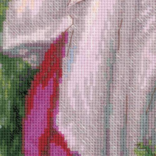 """Набор для вышивания крестом Риолис """"Ветреницы (Д. У. Уотерхаус)"""" (фото, вид 2)"""