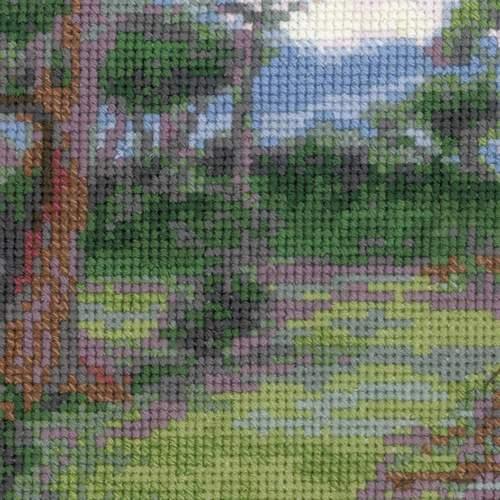 """Набор для вышивания крестом Риолис """"Ветреницы (Д. У. Уотерхаус)"""" (фото, вид 4)"""