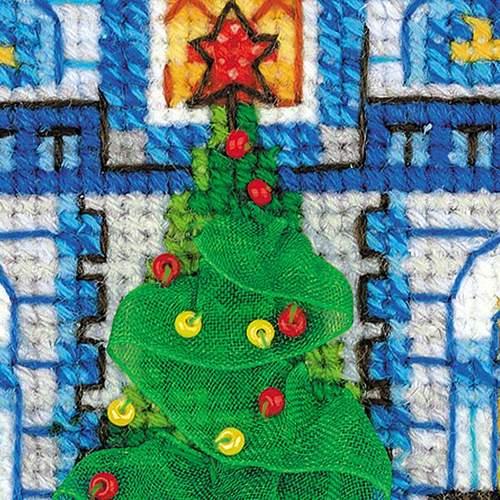 """Набор для вышивания крестом Риолис """"Ледяной домик"""" (фото, вид 2)"""