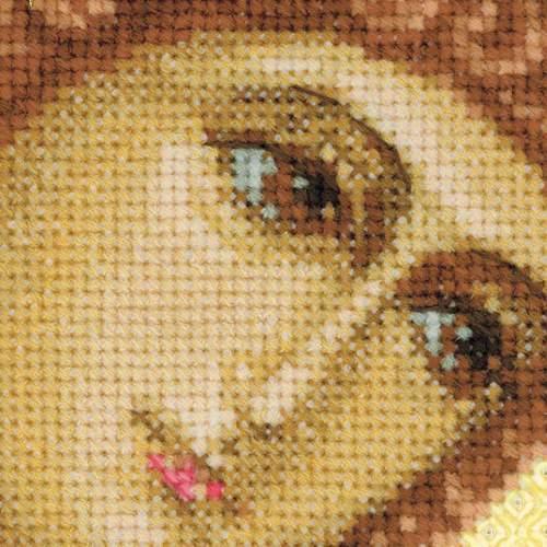 """Набор для вышивания крестом Риолис """"Ангел Хранитель"""" (фото, вид 1)"""