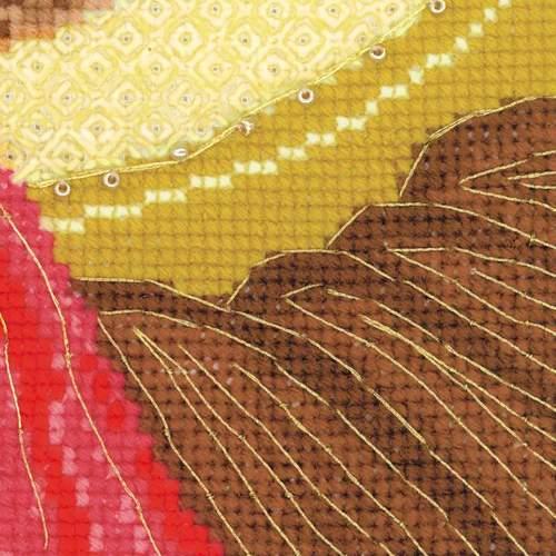 """Набор для вышивания крестом Риолис """"Ангел Хранитель"""" (фото, вид 2)"""