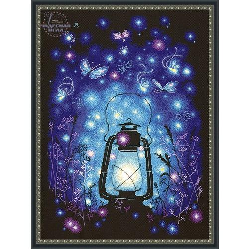 """Набор для вышивания крестом Чудесная игла """"Наш волшебный вечер"""" (фото, вид 1)"""