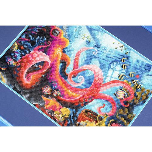 """Набор для вышивания крестом Риолис """"Подводное царство"""" (фото, вид 1)"""