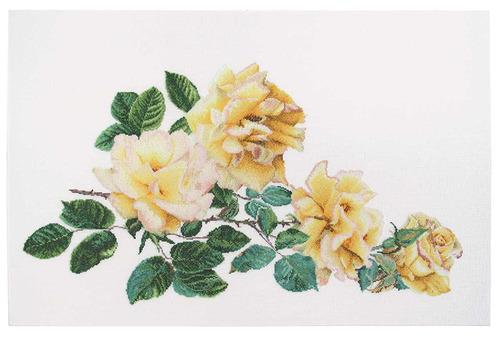 """Набор для вышивания крестом Thea Gouverneur """"Роза Мира"""" (фото, вид 1)"""