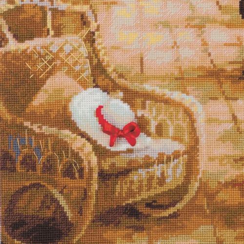 """Набор для вышивания крестом Риолис """"Свидание в саду"""" (фото, вид 2)"""