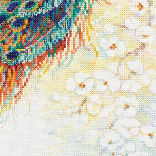 """Набор для вышивания крестом Риолис """"Персидский сад"""" (фото, вид 3)"""