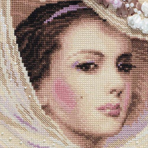 """Набор для вышивания крестом Риолис """"Сиреневый вечер"""" (фото, вид 2)"""
