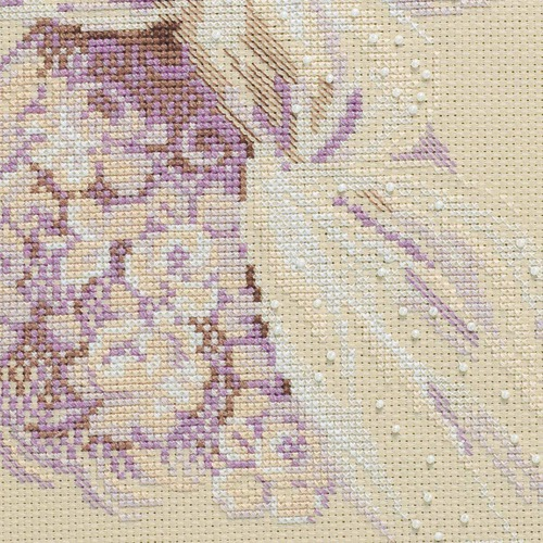 """Набор для вышивания крестом Риолис """"Сиреневый вечер"""" (фото, вид 3)"""