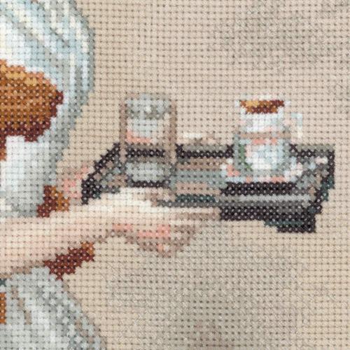 """Набор для вышивания крестом Риолис """"Шоколадница (Ж.Э. Лиотар)"""" (фото, вид 2)"""