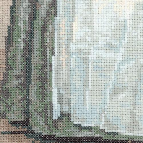 """Набор для вышивания крестом Риолис """"Шоколадница (Ж.Э. Лиотар)"""" (фото, вид 3)"""