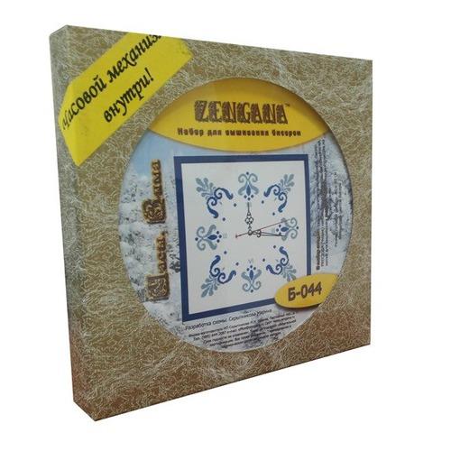 """Набор для вышивания бисером Zengana """"Часы. Зима"""" (фото, вид 1)"""