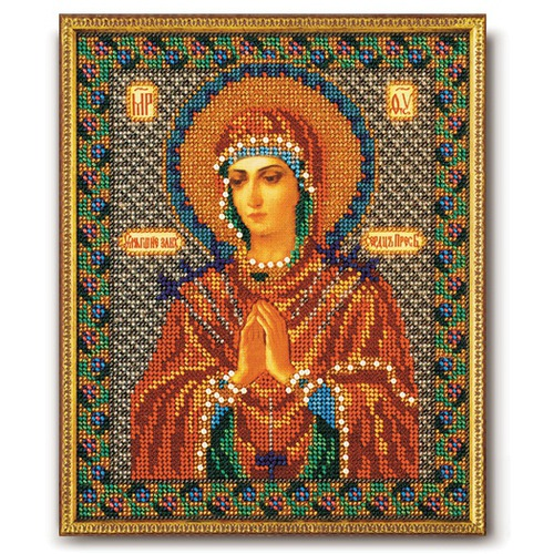 """Набор для вышивания бисером Радуга бисера (Кроше) """"Богородица Умягчение Злых Сердец"""""""