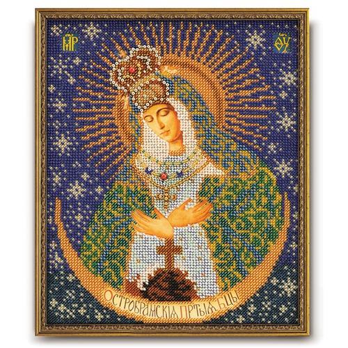 """Набор для вышивания бисером Радуга бисера (Кроше) """"Остробрамская Богородица"""""""