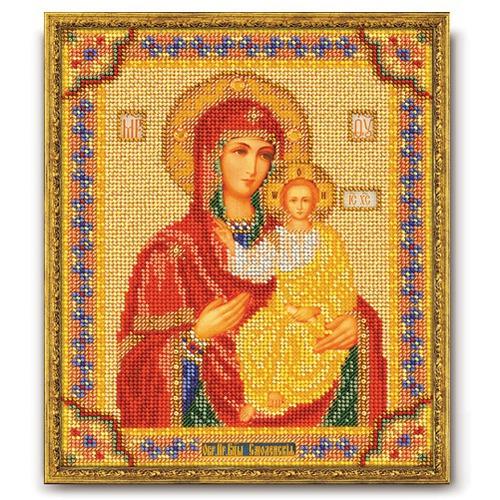 """Набор для вышивания бисером Радуга бисера (Кроше) """"Смоленская Богородица"""""""