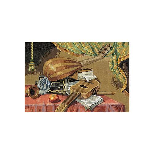 """Набор для вышивания крестом Eva Rosenstand """"Музыкальные инструменты"""""""