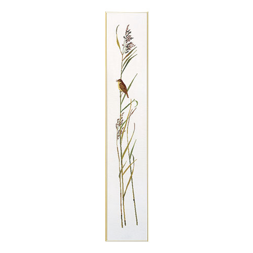 """Набор для вышивания крестом Eva Rosenstand """"Поющая птичка на тростинке"""""""
