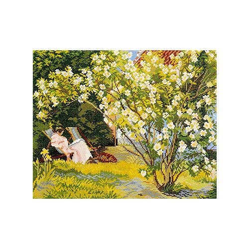 """Набор для вышивания крестом Eva Rosenstand """"Цветение роз"""""""