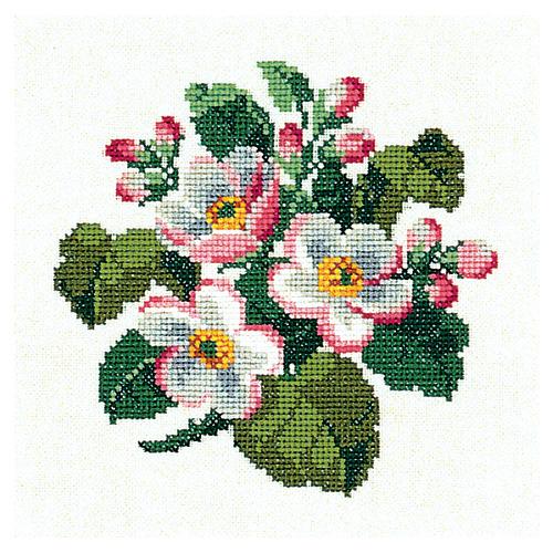 """Набор для вышивания крестом Eva Rosenstand """"Цветы яблони"""""""