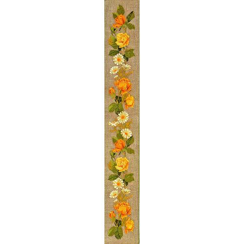 """Набор для вышивания крестом Eva Rosenstand """"Желтые розы"""""""