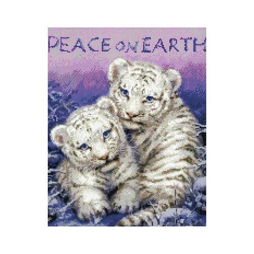 """Набор для вышивания крестом Kustom Krafts Inc. """"Мир на земле"""" (фото)"""