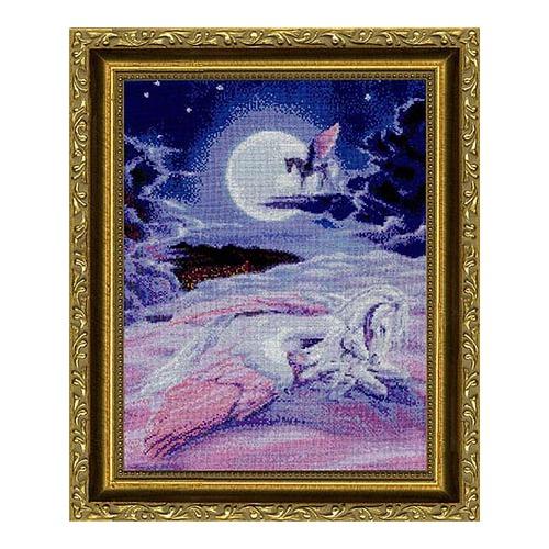 """Набор для вышивания крестом Kustom Krafts Inc. """"Когда дети видят сны"""""""