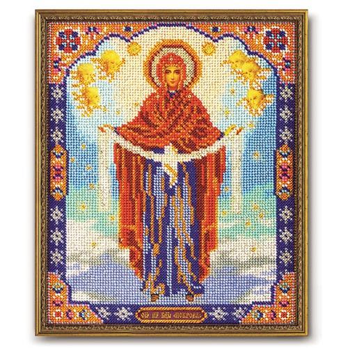"""Набор для вышивания бисером Радуга бисера (Кроше) """"Богородица Покрова"""""""