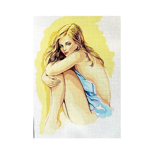 "Канва/ткань с нанесенным рисунком Gobelin-L ""Мечты любви"""