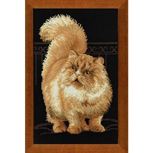 """Набор для вышивания крестом Риолис """"Персидский кот"""""""
