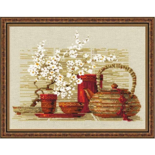 """Набор для вышивания крестом Риолис """"Чай"""""""