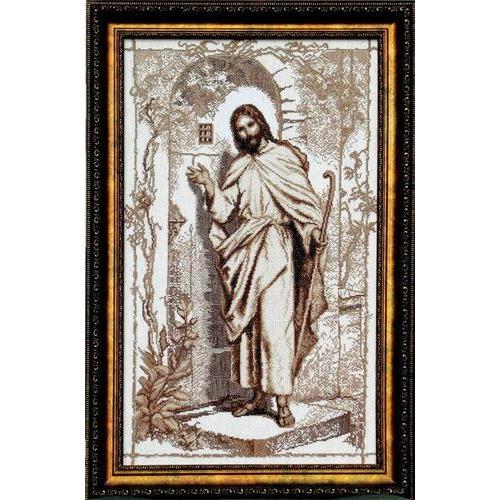"""Набор для вышивания крестом Чаривна Мить """"Иисус стучится в твою дверь"""" (фото)"""