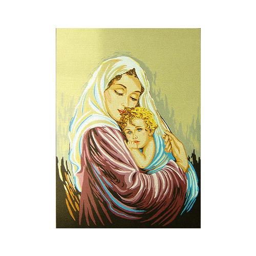 """Канва с нанесенным рисунком Gobelin-L """"Мать и дитя"""""""