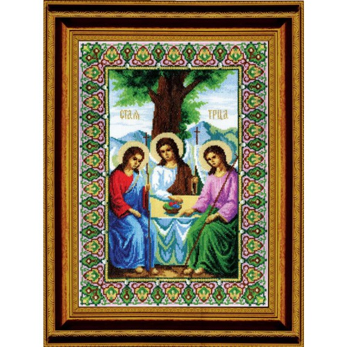 """Набор для вышивания крестом Чаривна Мить """"Икона Пресвятой Троицы"""""""